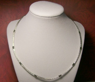 Sterling Silver neck wire