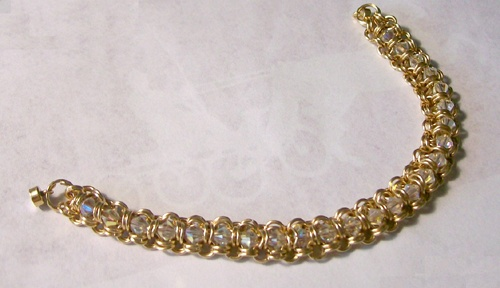 14k goldfilled tennis bracelet