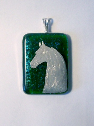 Saddlebred head pendant