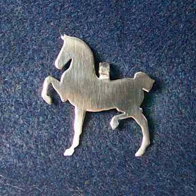 Sterling Silver Hackney Pendant