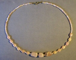Peruvian Pink Opal Necklace