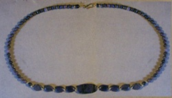 Dumortierite Ovals Necklace
